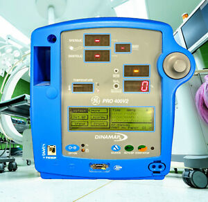 Ge Dinamap Pro 400v2 Vital Signs Patient Monitor With Nibp Spo2 Pulse And Temp