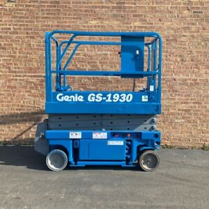Genie Gs 1930 Scissor Lift win Win Equipment