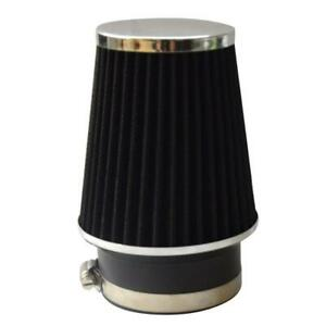 3 5 Inch Narrow High Flow Cold Air Intake Cone Replacement Dry Filter Black