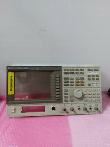 Hp Agilent 89410a Dc 10mhz Vector Signal Analyzer Front Panel