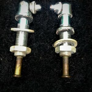 Porsche 356 B C Windshield Washer Nozzles Matched Pair W All Mounting Hardware