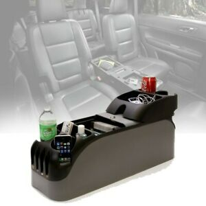 Center Console Suv Armrest Cup Holder Organizer Universal Car Minivan Catcher
