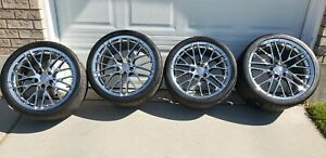 C6 Corvette Zr1 Oem Wheels Tires
