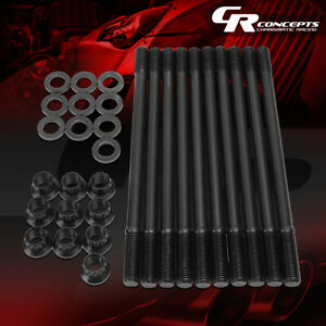 Performance Cylinder Head Stud Kits For 1993 2001 Honda Prelude H22 Engine Model