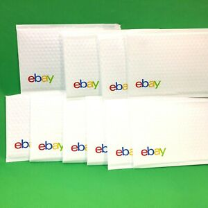 Shipping Supplies Ebay Branded Airjacket Bubble Envelopes 6 5 x 9 25 Pack Of 10