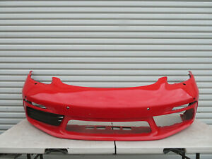 2017 2019 Porsche Cayman Boxster 718 Front Bumper Cover Fascia Oem Factory Used