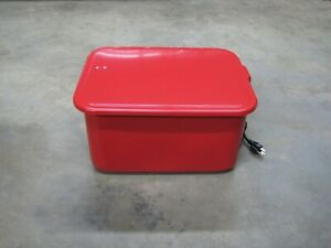 3 5 Gallon Parts Washer W Electric Pump Automotive Shop Tools And Equipment