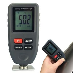 Paint Coating Thickness Meter Gauge Tester Auto F nf Probes 0 1300um