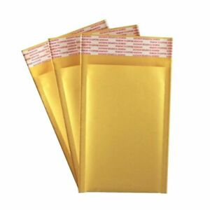 25 Pack 4 X 7 000 Kraft Bubble Mailers Self Seal Padded Shipping Envelopes