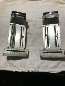 Pair 2 Snap On Wa40 King Pin Angle Alignment Tool Magnetic Caster Camber Gauge
