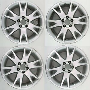 Set Of 4 Volvo Oem 18x7 Atlantis Alloy Rims Wheels 30695339 For Xc90 2003 2011