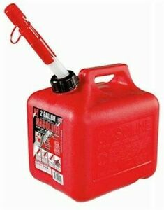 Midwest 2310 2 Gallon Red Portable High Density Polyethylene Gas Can