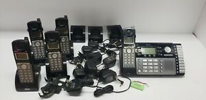 Rca Visys Dect 6 0 Business 2 Line Phone System 1 Base W Vm 5 Handsets Extras