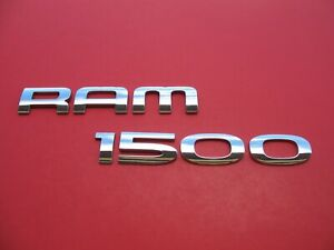 02 03 04 05 06 07 08 Dodge Ram 1500 Side Door Emblem Logo Badge Sign Oem B4983