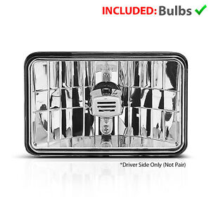 For Commercial Truck Universal Halogen 4 X 6 Low Beam Headlights 1pc