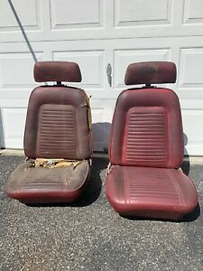 1969 Camaro Front Bucket Seats Original