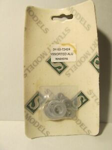 Stuart Models Assorted Aluminum Washers For Live Steam Use Brand New