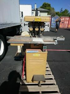 Challenge Eh 3a Heavy Duty Hydraulic Three 3 Hole Paper Drill Multi spindle 1977