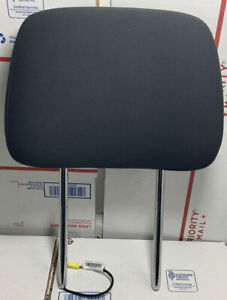 2011 2013 Jeep Grand Cherokee Front Headrest Black Cloth Oem