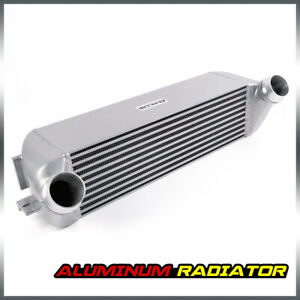 For Bmw F20 F30 1 2 3 4 Series Turbo Aluminum Front Mount Intercooler Kit Silver