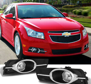 Black Horse Fit 11 15 Chevy Cruze Fog Light With Wiring Kit And A Switch