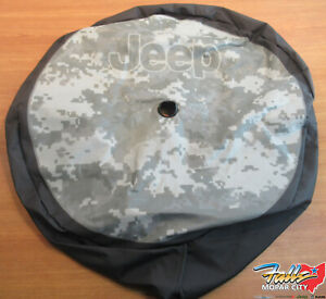 2018 2021 Jeep Wrangler Jl 245 75r17 And 255 70r18 32 Camo Spare Tire Cover Oem