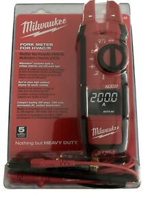 Milwaukee 220620 Fork Meter For Hvac r