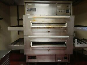 Middleby Marshall Ps360 Double Stack Pizza Oven Natural Gas