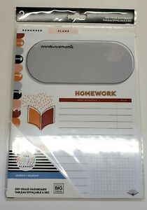 The Happy Planner Student Dry Erase Dashboard 2 Pcs
