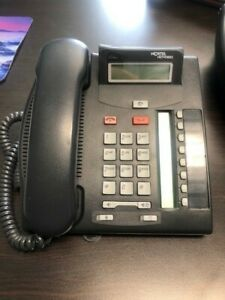 Nortel Norstar Bcm T7208 Charcoal Phone lot Of 8 Shipping Included