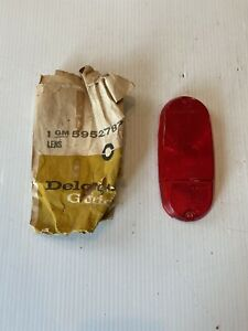 Nos 1957 1958 1959 Chevy Gmc Panel Pickup Truck Rear Tail Light Lamp Lens Guide