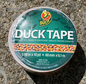 New Duck Tape Halloween Candy Corn Duct 1 88 X 10 Yards