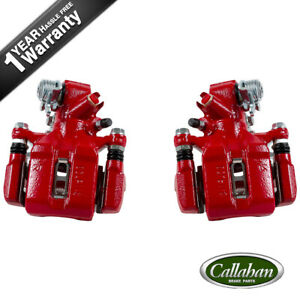 Rear Red Coated Brake Calipers For Rsx Honda Civic Hatchback Si