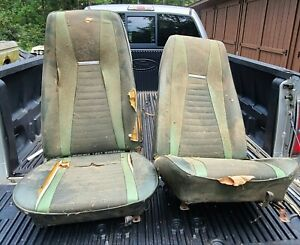 1971 1972 1973 Ford Mustang Mach1 Front And Rear Seats