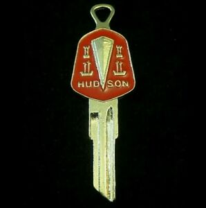 Hudson 2 sided Gold Crest Key Blank Fits All Hudsons And Some Amc s