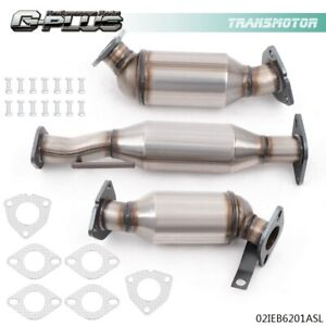 Fit For 09 17 Chevrolet Traverse 07 07 Gmc Acadia 3 6l Catalytic Converter 3 Set