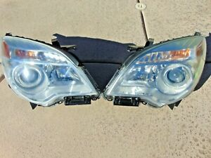 10 15 Chevrolet Equinox Headlight Assemblies Restored Lenses Lh Rh Tested Oem