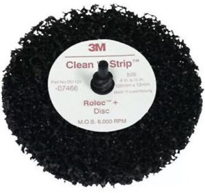 3m 07466 7466 Scotch Brite Roloc Clean And Strip Disc 4 X 1 2 7466 New