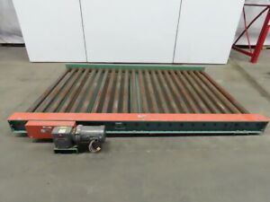 Roach 251cdlr 63 45 99 Power Roller Case Conveyor 66 x99 40fpm 208 230 460v 3ph