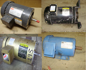 Lincoln Baldor Weg Electric Motors 3 Phase 240 480 Volt