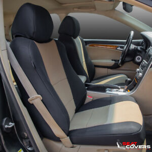 Custom Fit Neoprene Front Seat Covers For The 2012 2017 Toyota Camry