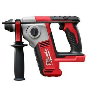Milwaukee 2612 20 M18 Cordless 5 8 In Sds Plus Rotary Hammer Bare Tool