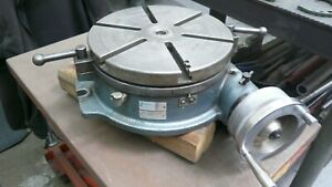 Yuasa Clean 12 Horizontal Precision Rotary Table Made In Japan