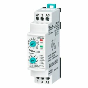 Digital On Delay Time Relay Electronic Adjustable 0 1sec 100 Hours Din Rail