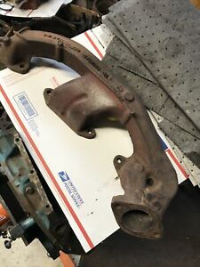 1972 1973 Plymouth Road Runner Dodge Charger Lh Bb Exhaust Manifold 400 3751068