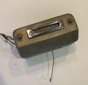 1955 1956 1957 1958 1959 Chevrolet Truck Factory Radio Real Nice Survivor