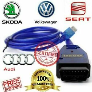 Vw Audi Vcds Lite Volkswagen Obd2 Usb Car Code Scanner Diagnostic Tool Interfac