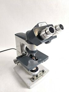 Ao American Optical One ten 110 Industrial Laboratory Microscope 5 Objectives