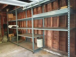 Industrial Shelving Unit 3 Sections Dimensions Are 18 7 1 4 L X 10 T