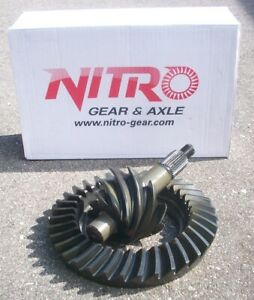 Ford 9 Inch Mustang Falcon Rearend 3 50 Ring And Pinion Nitro Gear Set